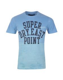 Superdry Mens Blue S/S Laguna T-Shirt