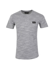 Nicce Mens Grey Space Dye T-Shirt