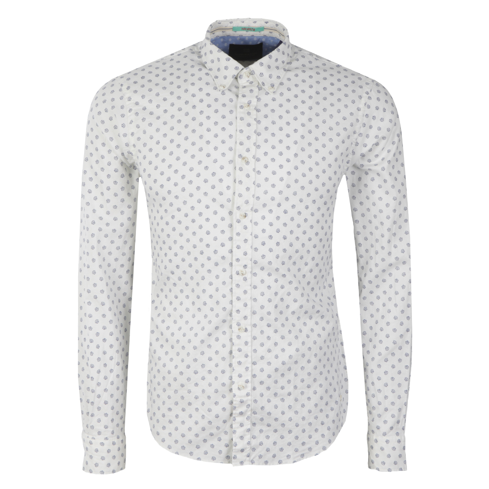 Shell Print Oxford Shirt main image
