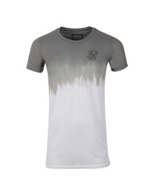 Sik Silk Mens Green Dip Dye Muscle T-Shirt