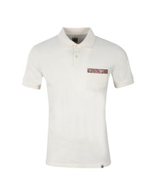 Pretty Green Mens White Thornton Polo