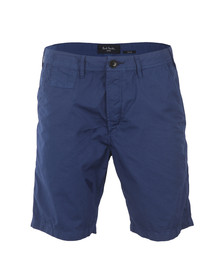 Paul Smith Jeans Mens Blue Standard Fit Chino Short