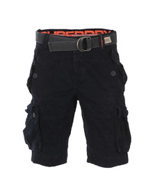 Superdry Mens Blue New Core Cargo Heavy Short