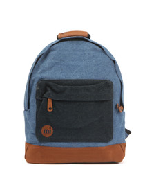 Mi Pac Unisex Blue Denim Pocket Backpack