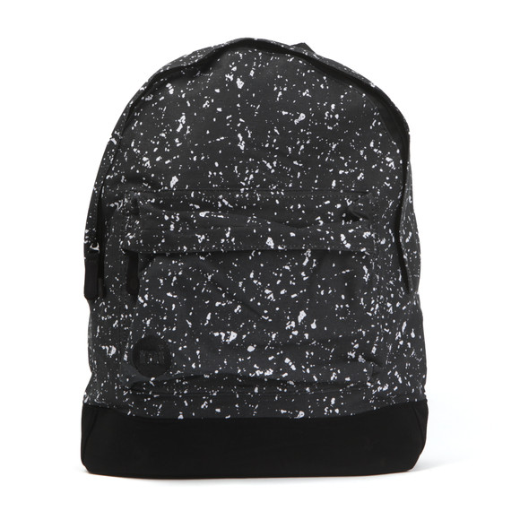 Mi Pac Unisex Black Splattered Backpack main image