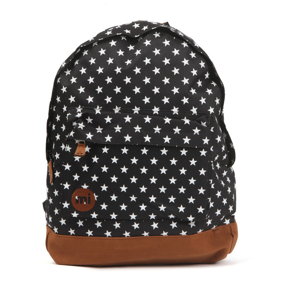 Mi Pac Unisex Black All Over Stars Backpack main image