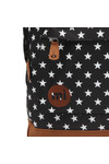Mi Pac Unisex Black All Over Stars Backpack