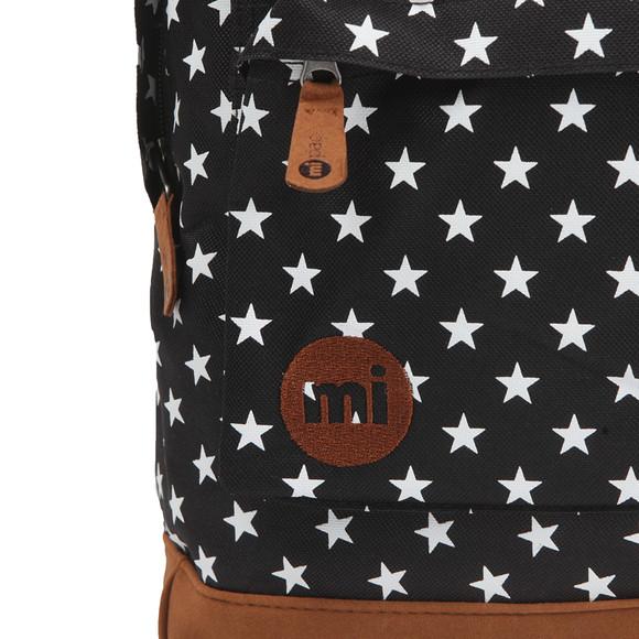 Mi Pac Unisex Black All Over Stars Backpack main image