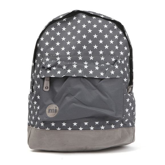 Mi Pac Unisex Grey All Over Stars Backpack main image