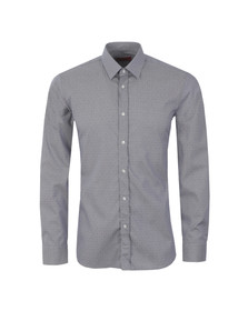 Hugo Mens Blue Elisha01 Patterned Shirt