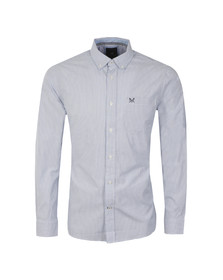 Crew Mens Blue L/S Oakmere Shirt