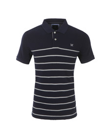 Crew Mens Blue S/S Roxby Polo