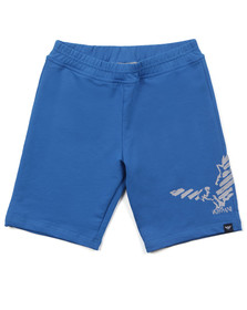 Armani Junior  Boys Blue C4S13 Jersey Short