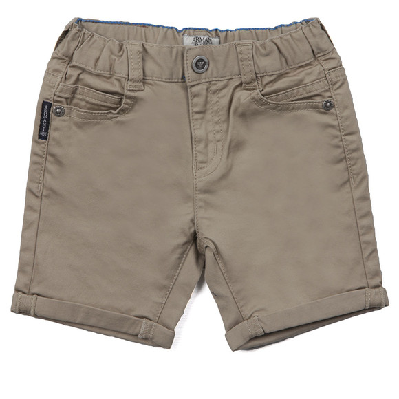 Armani Baby Boys Beige CDS01 Chino Short main image