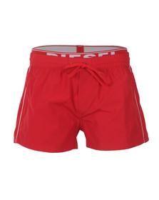 Diesel Mens Red Seaside Swim Short