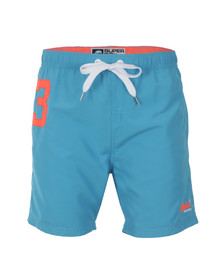 Superdry Mens Blue Miami Waterpolo Short