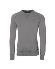 G-Star Mens Silver Twanim Crew Sweatshirt