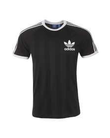 Adidas Originals Mens Black California Football T-Shirt