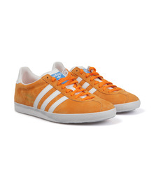 Adidas Originals Mens Orange Gazelle OG Trainer