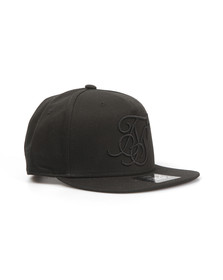 Sik Silk Mens Black & X Starter Snap Back