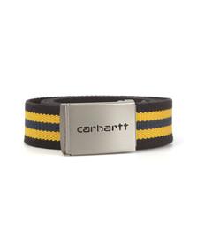 Carhartt Mens Blue Clip Belt Chrome