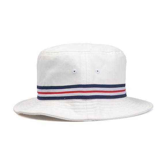 Lacoste Mens White Bucket Hat RK8487 main image