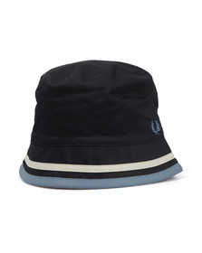 Fred Perry Mens Blue Reversible Bucket Hat