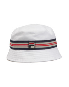Fila Mens White Casper Bucket Hat
