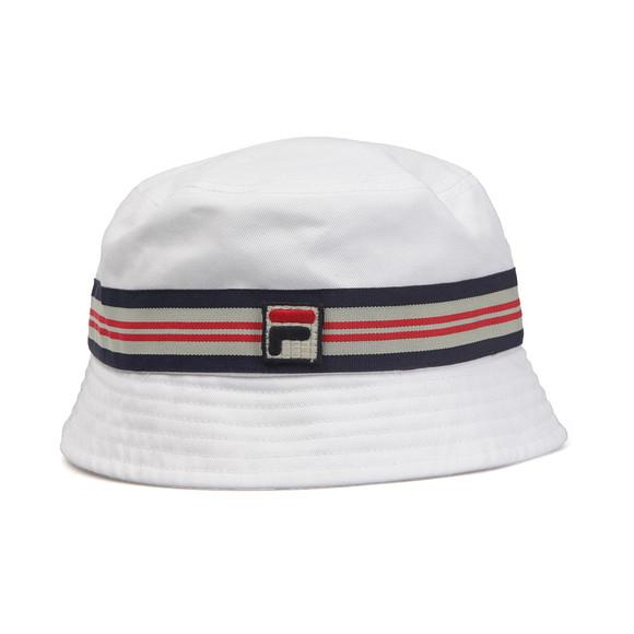 Fila Mens White Casper Bucket Hat main image