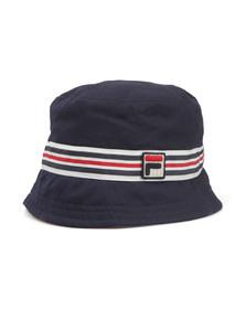 Fila Mens Blue Legion Reversible Bucket Hat