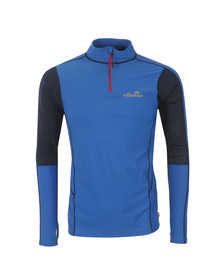 Ellesse Mens Blue Brizio Poly Top