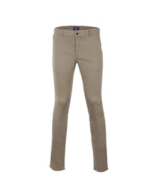 Gant Mens Beige Slim Fit Chino