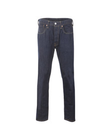 Levi's Mens Blue Levi 501 CT Jean