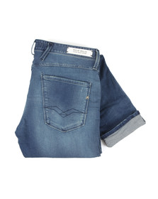 Replay Mens Blue Anbass Ecoplus Slim Jean