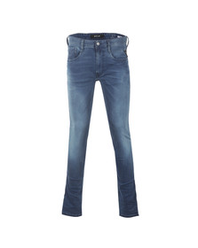 Replay Mens Blue Anbass Ecoplus Slim Jean