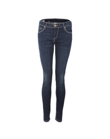 True Religion Womens Blue Casey Super Skinny T Jeans