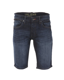 Luke Mens Blue Beamer Denim Short