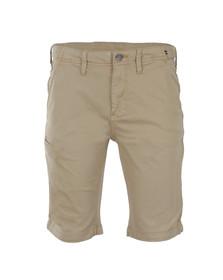 Luke Mens Grey Tennessee Tailored Chino Short