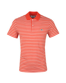 Lacoste Mens Orange Polo Shirt DH4976