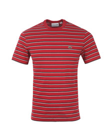 Lacoste Mens Red T- Shirt TH6583