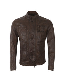 Matchless Mens Brown Han Solo Leather Jacket