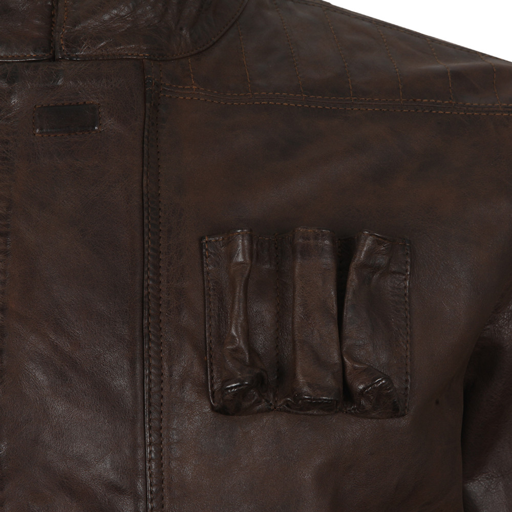 Han Solo Leather Jacket main image