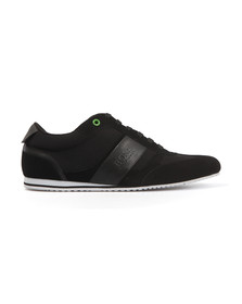 Boss Green Mens Black Lighter Trainer