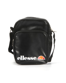 Ellesse Mens Black Potenza Small Crossbody Bag
