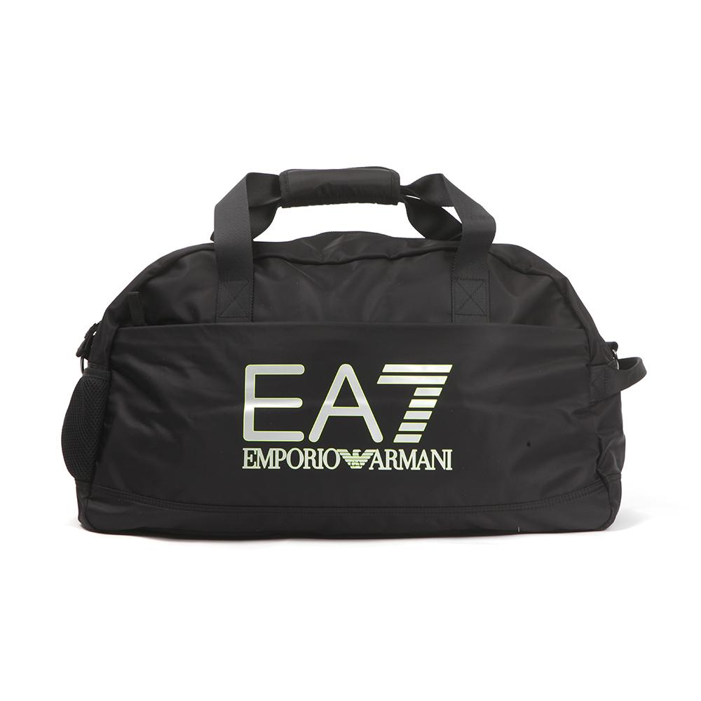8fe8b8722076 EA7 Emporio Armani Mens Black Train Visibility Gym Bag