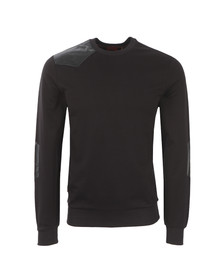 Luke Mens Black OSH Crew Sweat