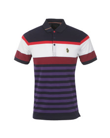 Luke Mens Blue S/S Carnousties Polo