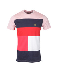 Luke Mens Pink S/S Close To The Wind Tee