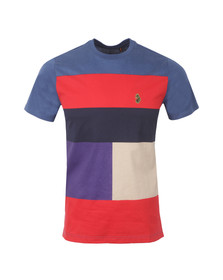 Luke Mens Blue S/S Close To The Wind Tee