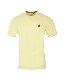 Luke Mens Yellow Trouser Snake OTM Crew Tee